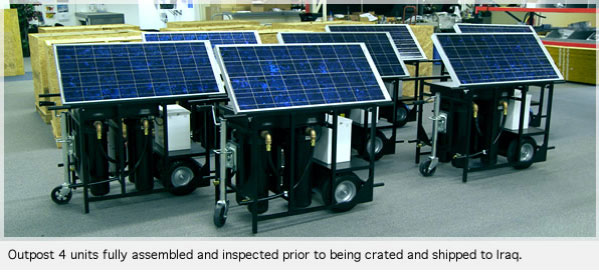 Solar Water Desalination System For Data Acquisition System : National disaster relief